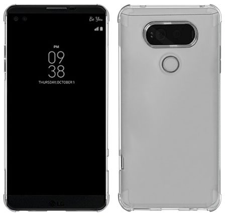 [2 PACK] SPARIN Nature TPU Soft Cover for LG V20