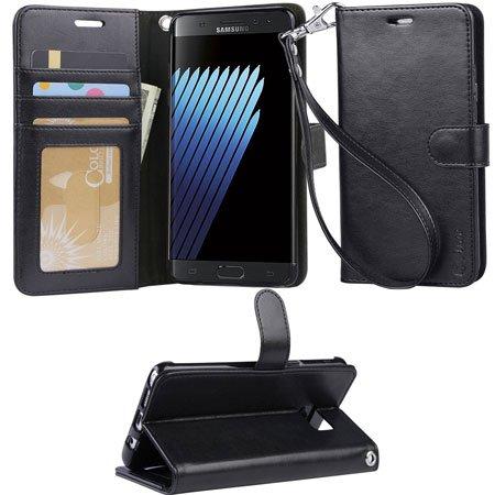 ARAE Samsung Galaxy Note 7 wallet Case with Kickstand