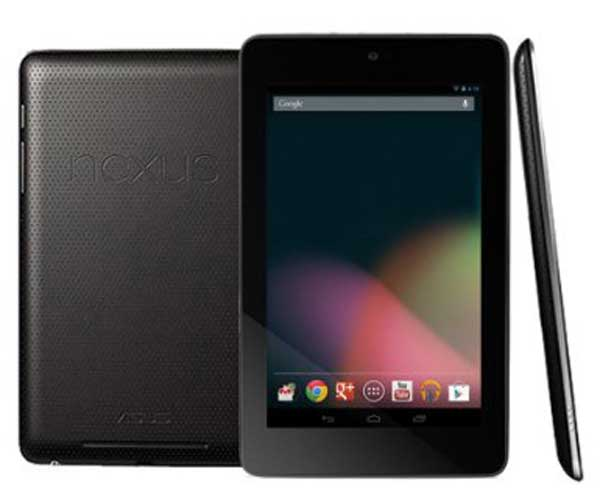 ASUS Google Nexus 7 inch Tablet (2012 Edition)