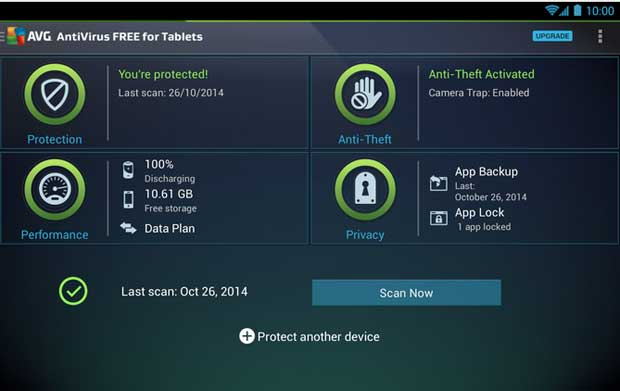 AVG Mobile AntiVirus Security