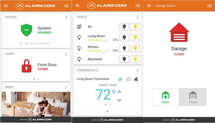 Alarm.com - Smart Home Security App