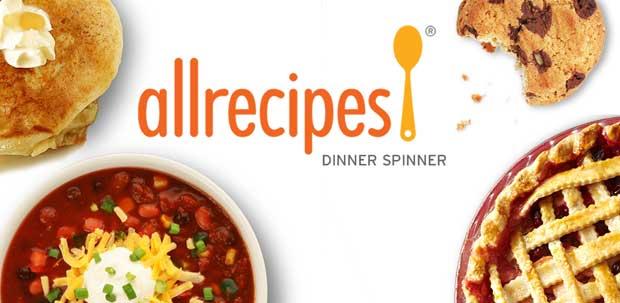 Allrecipes Dinner Spinner - Android Cooking App