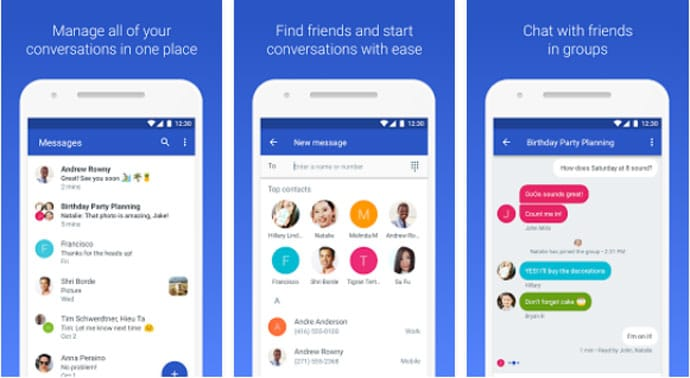 Android Messages - Text Messaging Apps