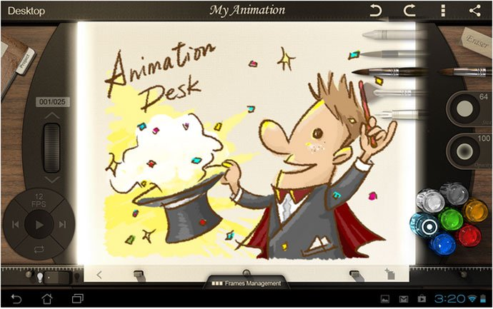 Animation Desk – Best Animation Apps for Android