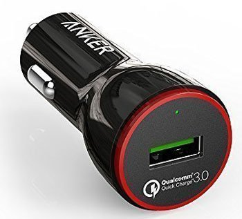 Anker Quick Charge 3.0 24W USB Car Charger