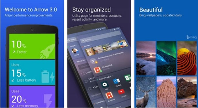 Arrow Launcher - Best Free Windows Launcher App for Android