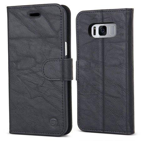 BELK Samsung Galaxy S8 Premium Leather Flip Wallet Cover