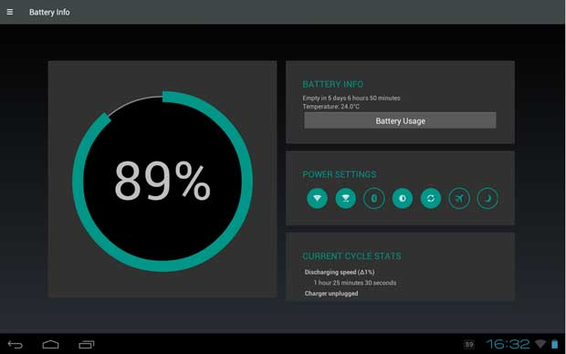 Battery Widget Reborn, Battery Saver App for Android