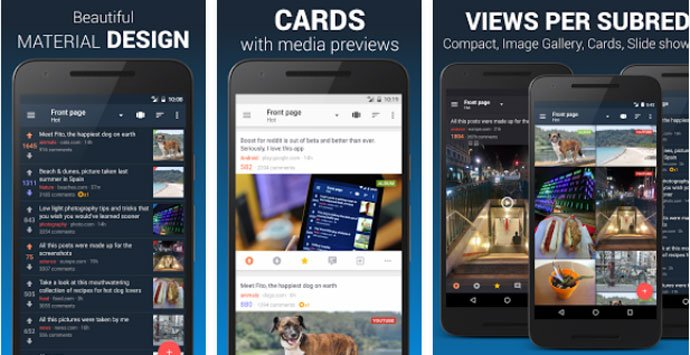 Top 10 Best Reddit App for Android Users 2017 | Get the Best One