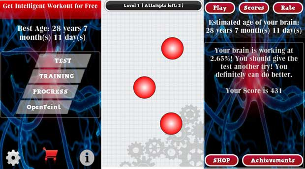 Brain Age Test Free - Best Brain Training App for Android