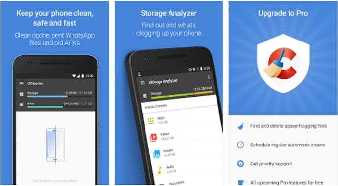 CCleaner - Phone Cleaner App