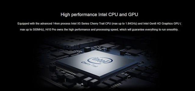 CHUWI Hi10 Pro 2 in 1 Ultrabook Tablet Hardware