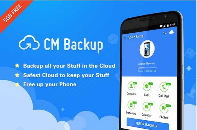 CM Backup – Safe, Cloud, Speedy