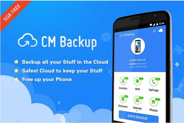 CM Backup - Backup App for Android