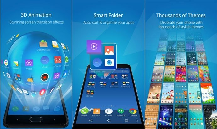 CM Launcher 3D – HD Theme & Live Wallpaper