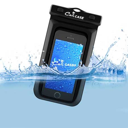 CaliCase Waterproof Case Pouch for Motorola Droid Maxx 2