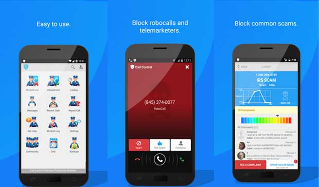 Call Control - best app to block calls and texts