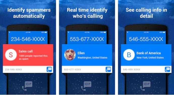 Caller ID & Call Blocker Free
