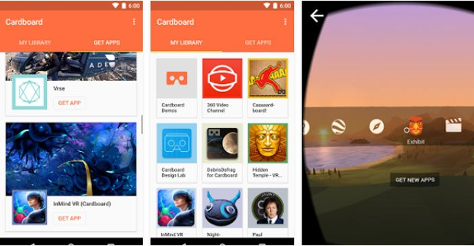 Cardboard - Best VR Apps for Android