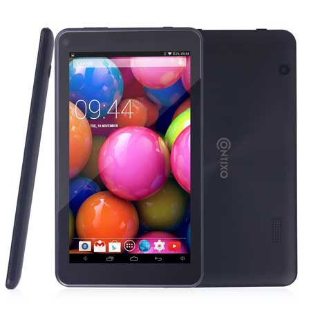 Contixo 7 inch Quad Core Google Android 4.4 Kitkat Tablet
