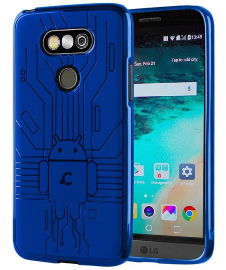Cruzerlite Bugdroid Circuit TPU case for LG G5