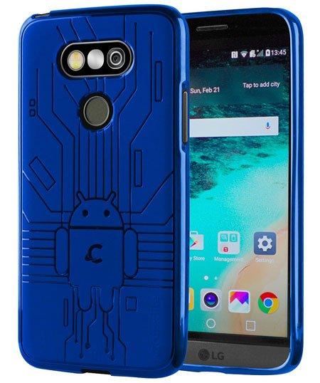 Cruzerlite Bugdroid Circuit TPU case for LG G5