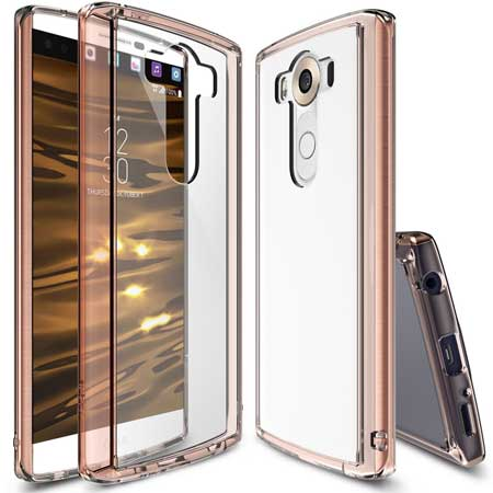 Crystal Clear LG V10 Case by Ringke