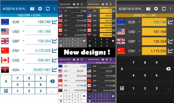 Currency Converter by Designer Calculator