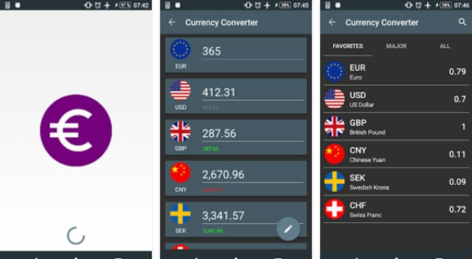 Currency Converter by Jimmy Dahlqvist