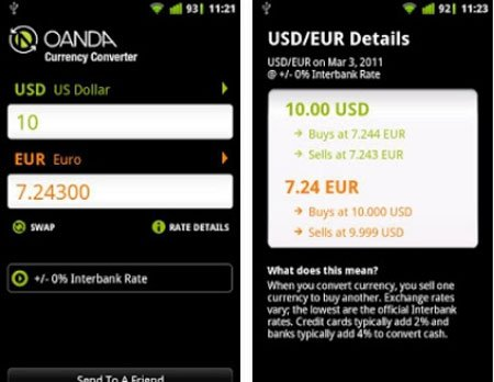 Currency Converter by OANDA