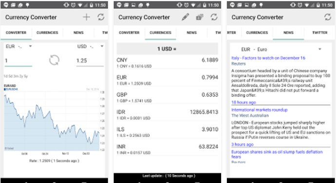 Currency Converter by Pocketools