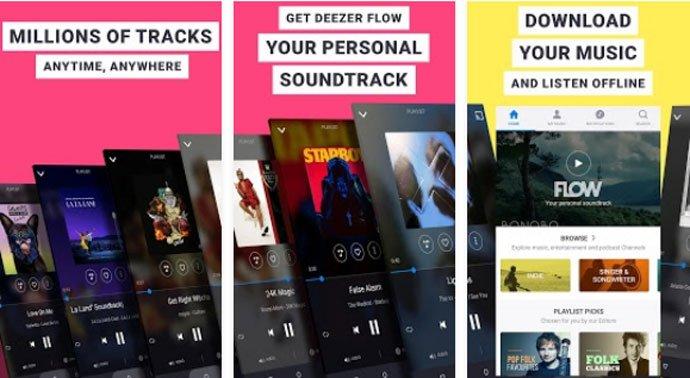 Download Free Music App Deezer