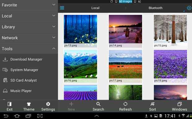 ES File Explorer File Manager - Android Apps for Tablets