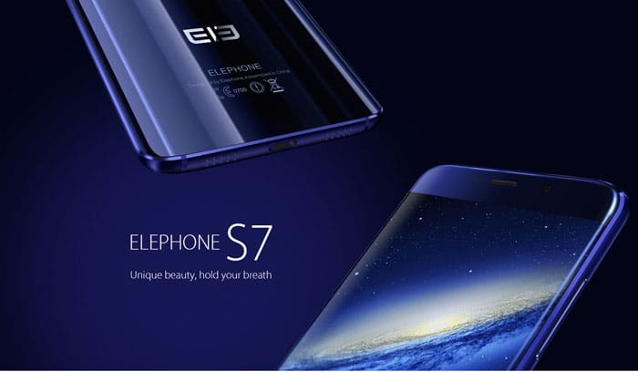 Features of Elephone S7 4G Phablet Design and Display