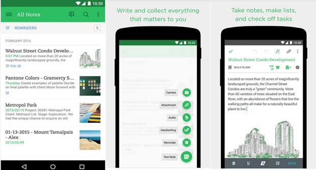 Evernote - Best Free Education Apps for Android