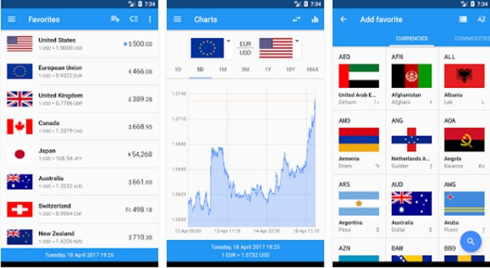 Exchange Rates - Android Currency Converter