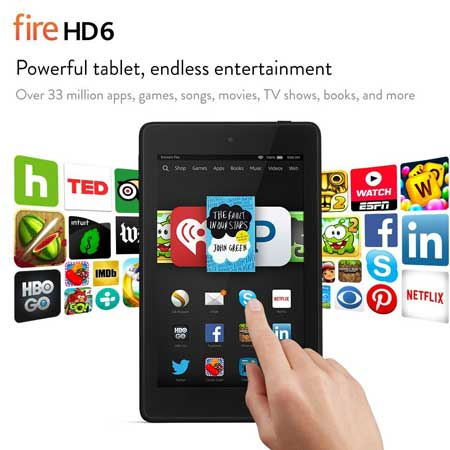 Fire HD 6 by Amazon