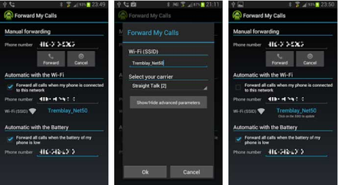 Forward My Calls - Call Forwarding Apps for Android
