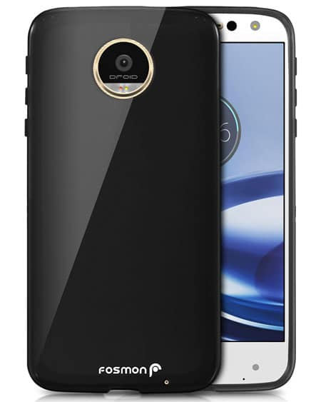 Fosmon DURA-T Ultra Slim TPU Back Cover Case for Motorola Moto Z Force