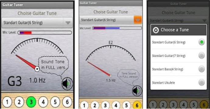 the 10 best guitar tuner apps for android devices 2017. Black Bedroom Furniture Sets. Home Design Ideas