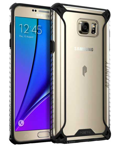 Galaxy Note 5 Case by POETIC Affinity Series