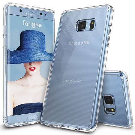 Galaxy Note 7 Case by Ringke (Crystal Clear PC Back TPU Bumper)