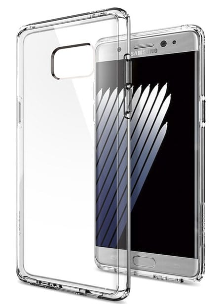 Best Transparent Galaxy Note 7 Case, Spigen