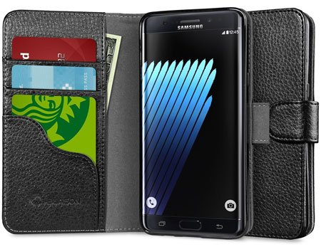 Galaxy Note 7 Case, [Wallet Case] i-Blason