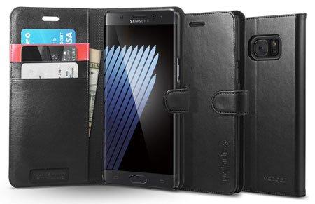 Galaxy Note 7 Wallet Style Case by Spigen