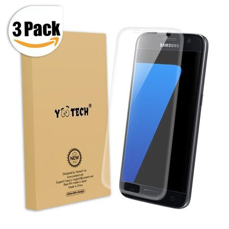 Galaxy S7 Screen Protector [Full Coverage], Yootech