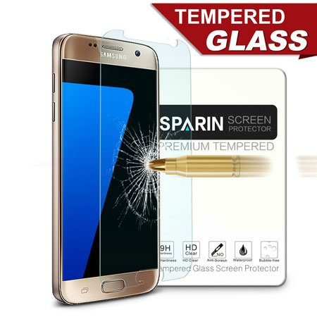 Must Have Samsung Galaxy S7 Accessories, Galaxy S7 Screen Protector, SPARIN