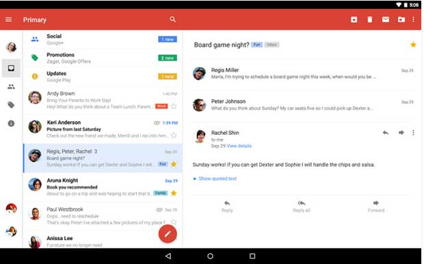 Gmail - Free Email App for Android