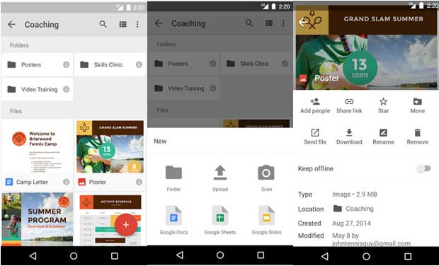 Google Drive - Business app for Android