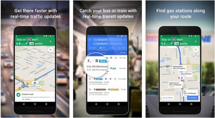 Google Maps - Best Navigation App for Android